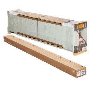 Упаковка секционных ворот