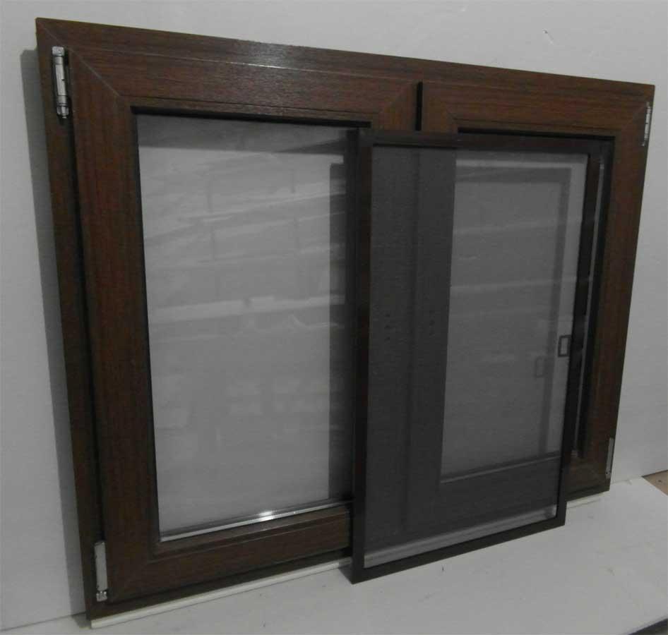 Окно с анти москитной сеткой